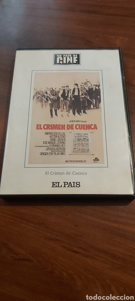 CINE DVD: EL CRIMEN DE CUENCA *IMPECABLE* (Cine - Películas - DVD)