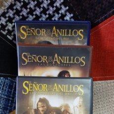 Cine: DVD'S TRILOGÍA EL SEÑOR DE LOS ANILLOS. Lote 260354265