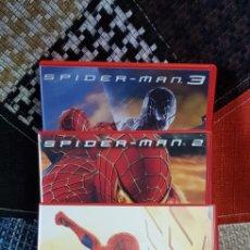 Cine: DVD'S TRILOGÍA SPIDER-MAN. Lote 260356455