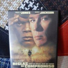 Cine: DVD REGLAS DE COMPROMISO. Lote 260358975