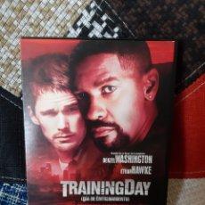 Cine: DVD TRAININGDAY (DÍA DE ENTRENAMIENTO). Lote 260359565