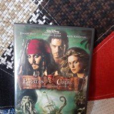 Cine: DVD PIRATAS DEL CARIBE (EL COFRE DEL HOMBRE MUERTO). Lote 260359800