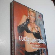 Cine: DVD X ADULTOS. LUCÍA LAPIEDRA EN MÁS DURA QUE LA PIEDRA (BUEN ESTADO). Lote 260568340