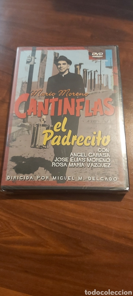 DVD - MARIO MORENO CANTINFLAS EN EL PADRECITO / NUEVA Y PRECINTADA (Cine - Películas - DVD)