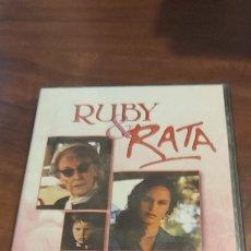 Cine: DVD, RUBY & RATA, LEE METEKINGI, YVONE LAWLEY, VANESSA RARE. Lote 260588060