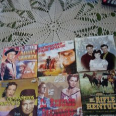Cine: 6 DVD DE PISTOLEROS, SIN ESTRENAR. Lote 260886000