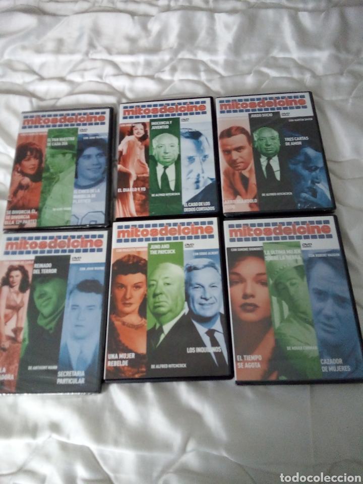 15 DVD DE MITOS DEL CINE, SIN ESTRENAR (Cine - Películas - DVD)