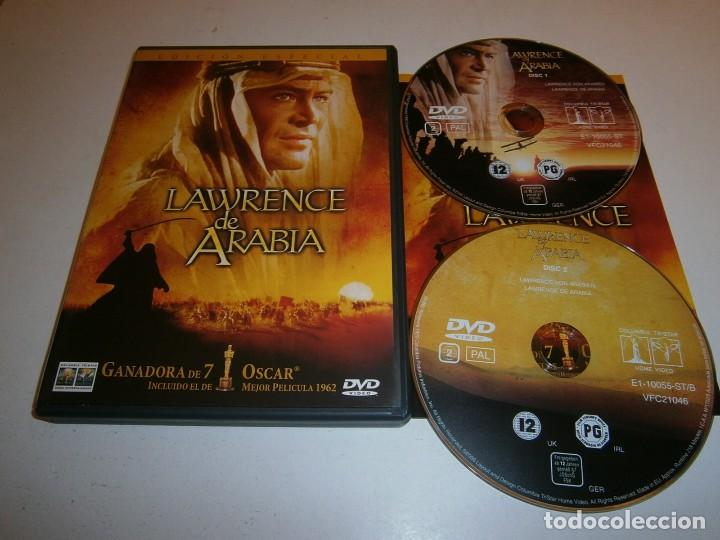 LAWRENCE DE ARABIA DVD EDICION ESPECIAL DOS DISCOS (Cine - Películas - DVD)