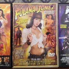 Cine: LOTE DVD --- SUPERMAN XXX + INDIANA JONES + STAR WARS ( A PORN PARODY ). Lote 261129295