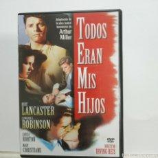 Cinema: 27376 TODOS ERAN MIS HIJOS DVD SEGUNDAMANO. Lote 261172395