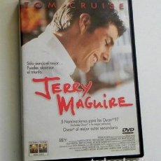 Cine: JERRY MAGUIRE DVD PELÍCULA TOM CRUISE - RENEE ZELLWEGER CUBA GOODING HUNT - SOCIEDAD CAPITALISTA. Lote 261246290
