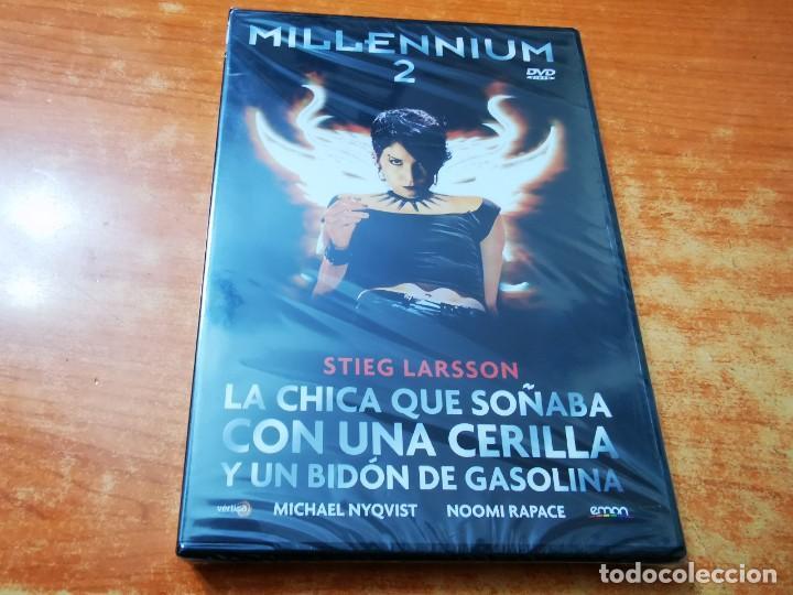 MILLENNIUM 2 - DVD PRECINTADO DEL AÑO 2011 MICHAEL NYQVIST NOOMI RAPACE (Cine - Películas - DVD)