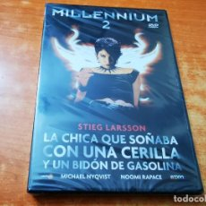 Cine: MILLENNIUM 2 - DVD PRECINTADO DEL AÑO 2011 MICHAEL NYQVIST NOOMI RAPACE. Lote 261261825