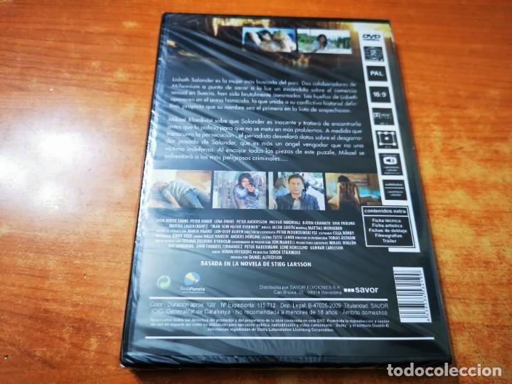 Cine: MILLENNIUM 2 - DVD PRECINTADO DEL AÑO 2011 MICHAEL NYQVIST NOOMI RAPACE - Foto 2 - 261261825