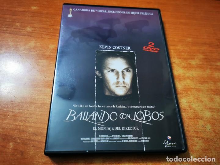 BAILANDO CON LOBOS 2 DVD DEL AÑO 2001 ESPAÑA KEVIN COSTNER MARY MCDONNELL GRAHAM GREENE DOBLE DVD (Cine - Películas - DVD)