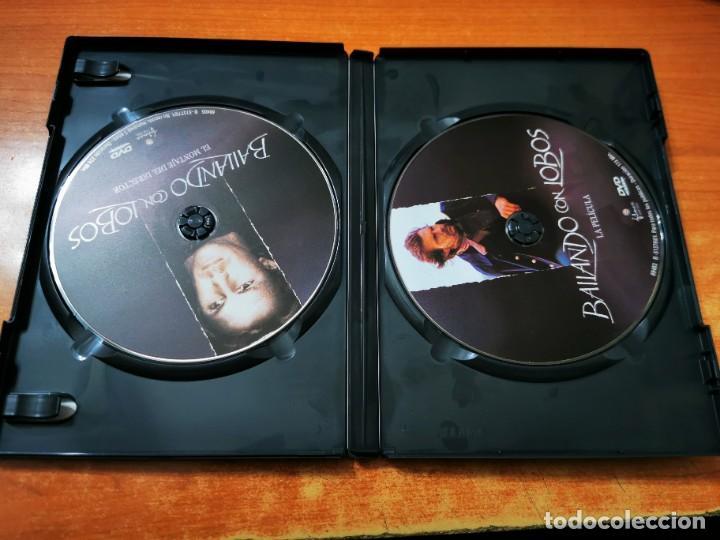 Cine: BAILANDO CON LOBOS 2 DVD DEL AÑO 2001 ESPAÑA KEVIN COSTNER MARY McDONNELL GRAHAM GREENE DOBLE DVD - Foto 2 - 261262915
