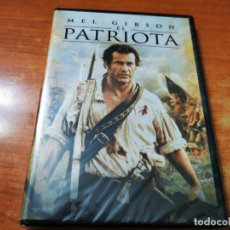 Cine: EL PATRIOTA DVD PRECINTADO 2000 ESPAÑA MEL GIBSON HEATH LEDGER JOELY RICHARDSON JASON ISACS. Lote 261263700