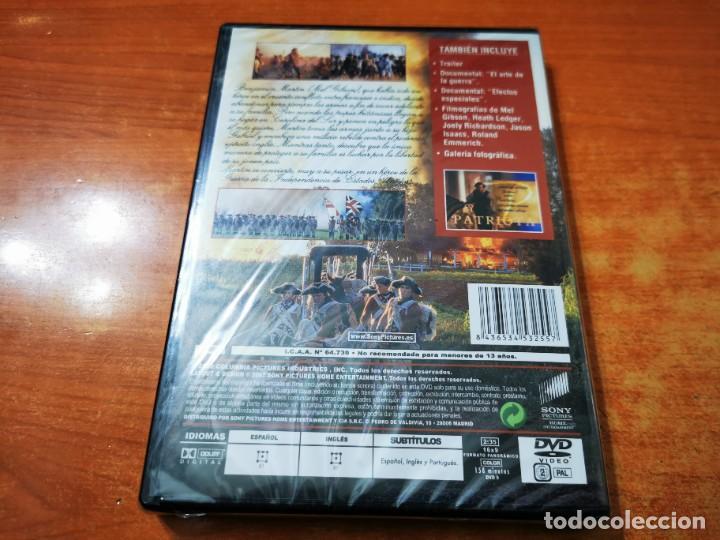 Cine: EL PATRIOTA DVD PRECINTADO 2000 ESPAÑA MEL GIBSON HEATH LEDGER JOELY RICHARDSON JASON ISACS - Foto 2 - 261263700