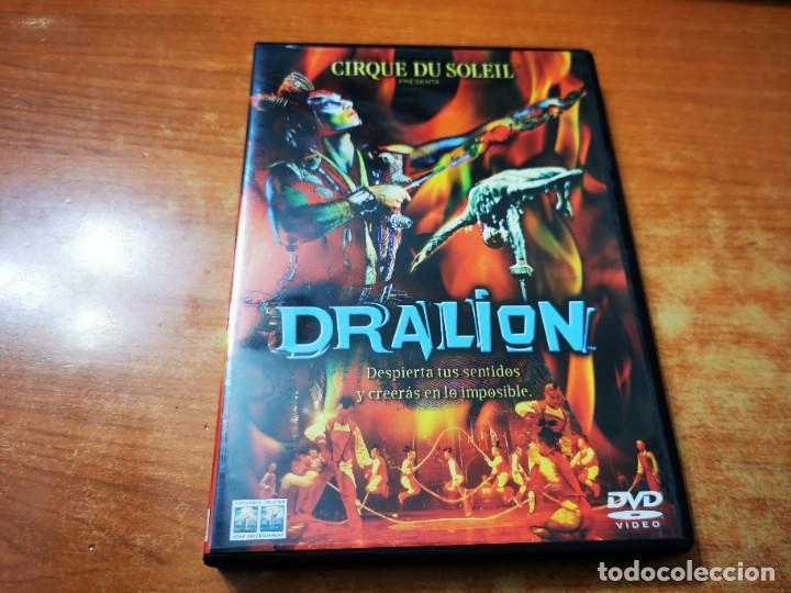 CIRQUE DU SOLEIL PRESENTA DRALION DVD DEL AÑO 2000 ESPAÑA MUY RARO (Cine - Películas - DVD)