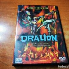 Cine: CIRQUE DU SOLEIL PRESENTA DRALION DVD DEL AÑO 2000 ESPAÑA MUY RARO. Lote 261264600