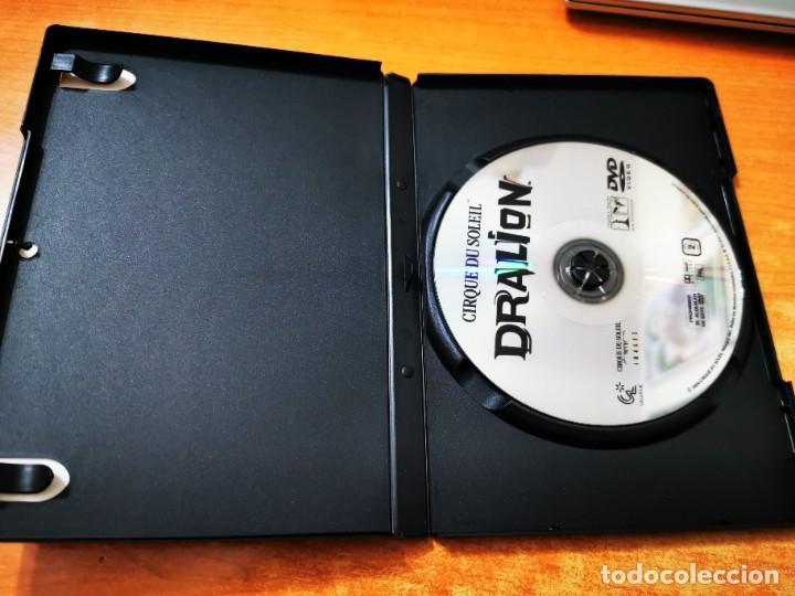 Cine: CIRQUE DU SOLEIL PRESENTA DRALION DVD DEL AÑO 2000 ESPAÑA MUY RARO - Foto 2 - 261264600