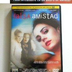 Cine: FALSA AMISTAD - DVD PELÍCULA SUSPENSE - CHICAS PIJAS AMIGAS - ESTUDIANTE DE FAMILIA HUMILDE - MONROE. Lote 261266735