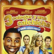 Cine: 3 COLEGAS Y UNA SALCHICHA - DVD DESCATALOGADO. Lote 261267135