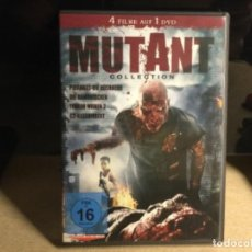 Cine: MUTANT COLLECTION - 4 FILME AUF 1 DVD - ZOMBIS. Lote 261301505