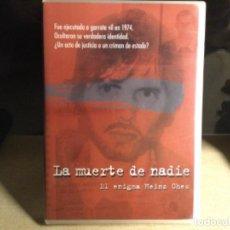 Cine: LA MUERTE DE NADIE - EL ENIGMA HEINZ CHES. Lote 261301630
