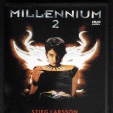 Cine: TODODVD: MILLENNIUM 2 (NOOMI RAPACE, MICHAEL NYQVIST, LENA ENDRE, GEORGI STAYKOV, PER OSCARSSON). Lote 261303205