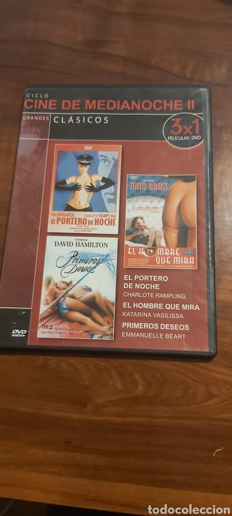 DVD CINE DE MEDIANOCHE 2: EL PORTERO DE NOCHE, EL HOMBRE QUE MIRA, PRIMEROS DESEOS TINO BRASS (Cine - Películas - DVD)