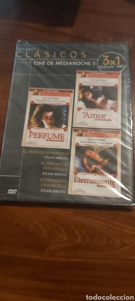 EL PERFUME DE EMMANUELLE- EL AMOR DE EMMANUELLE- ETERNAMENTE EMMANUELLE- DVD PRECINTADO EVA IONESCO (Cine - Películas - DVD)