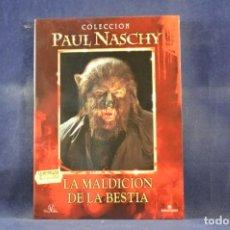 Cine: LA MALDICION DE LA BESTIA - (COLECCION PAUL NASCHY) - DVD. Lote 261589230