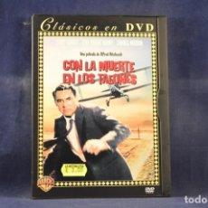 Cine: CON LA MUERTE EN LOS TALONES - DVD. Lote 261612975