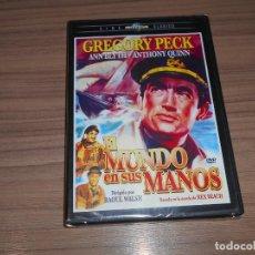 Cine: EL MUNDO EN SUS MANOS DVD DE RAOUL WALSH GREGORY PECK ANTHONY QUINN NUEVA PRECINTADA. Lote 261693100