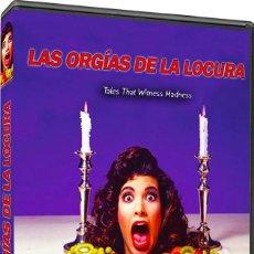 Cine: LAS ORGIAS DE LA LOCURA (JOAN COLLINS, DONALD PLEASENCE, JACK HAWKINS) - DVD NUEVO Y PRECINTADO. Lote 261785370