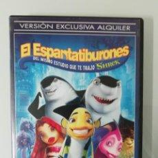 Cine: DVD EL ESPANTATIBURONES- EDICION PARA EL ALQUILER. Lote 261823410