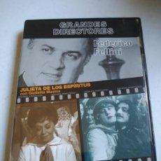 Cine: FEDERICO FELLINI: JULIETA DE LOS ESPÍRITUS/ LOS INÚTILES. DVD GRANDES DIRECTORES.. Lote 261916510