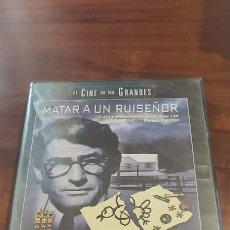 Cine: MATAR A UN RUISEÑOR. GREGORY PECK. MARY BADHAM. 3 OSCAR 1962. DVD .HARPER LEE PRECINTADO. Lote 262027325