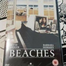 Cine: BEACHES-ETERNAMENTE AMIGAS-BETTE MIDLER(CONTIENE AUDIO EN ESPAÑOL)DVD. Lote 262070615
