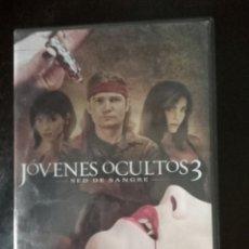 Cine: JÓVENES OCULTOS 3.SED DE SANGRE. Lote 262085795