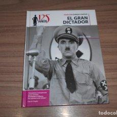 Cine: EL GRAN DICTADOR EDICION ESPECIAL DVD + LIBRO 46 PAG. CHARLES CHAPLIN COMO NUEVA. Lote 262183290