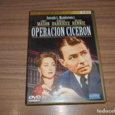 Cinema: OPERACION CICERON DVD JAMES MASON COMO NUEVA. Lote 262185805