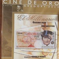 Cine: EL MILLONARIO - GREGORY PECK - DVD. Lote 262331610