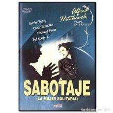 Cine: SABOTAJE DVD. Lote 262347220
