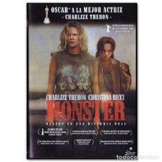 Cine: MONSTER DVD. Lote 262347245