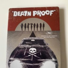 Cine: DEATH PROOF - QUENTIN TARANTINO - EDICION ESPECIAL 2 DVD - CAJA METÁLICA. Lote 262368005