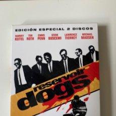 Cine: RESERVOIR DOGS EDICIÓN ESPECIAL - QUENTIN TARANTINO - 2 DVD. Lote 262368720