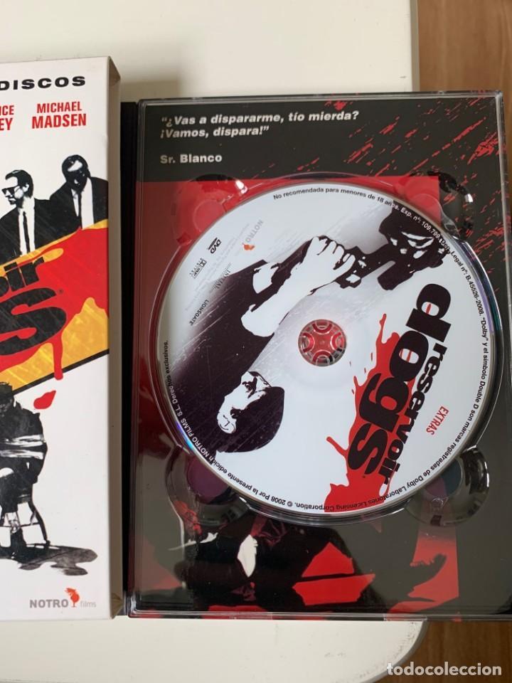 Cine: RESERVOIR DOGS EDICIÓN ESPECIAL - QUENTIN TARANTINO - 2 DVD - Foto 4 - 262368720