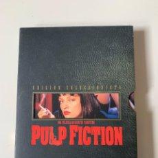 Cine: PULP FICTION EDICIÓN ESPECIAL COLECCIONISTA - QUENTIN TARANTINO - 2 DVD. Lote 262369085